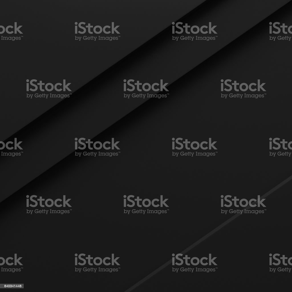 black abstract background pattern stripe paper material 3d render. business technology commercial sale concept layout with copy space stock photo