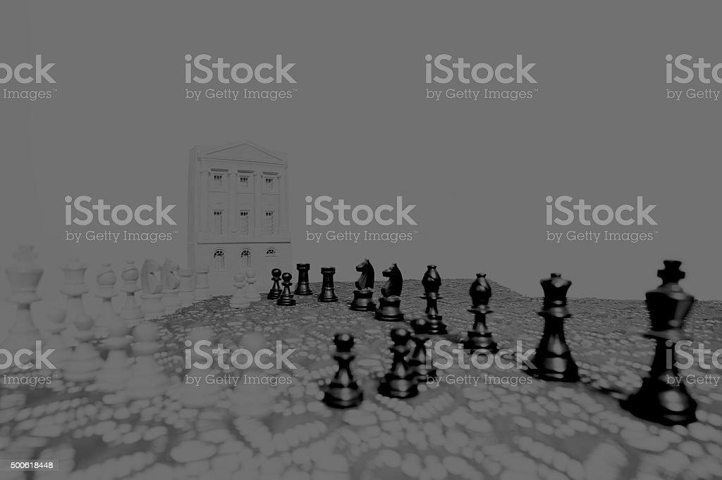 Black advance stock photo