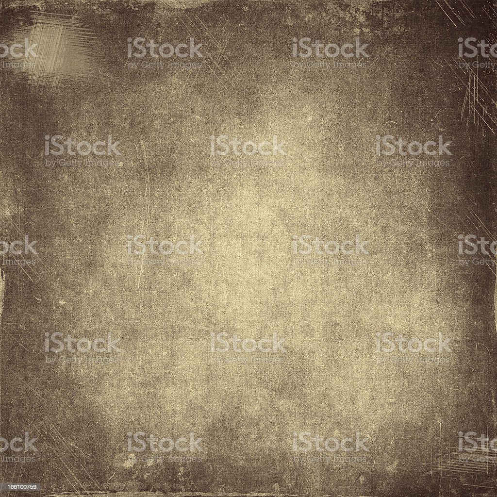 Black and beige tattered background stock photo