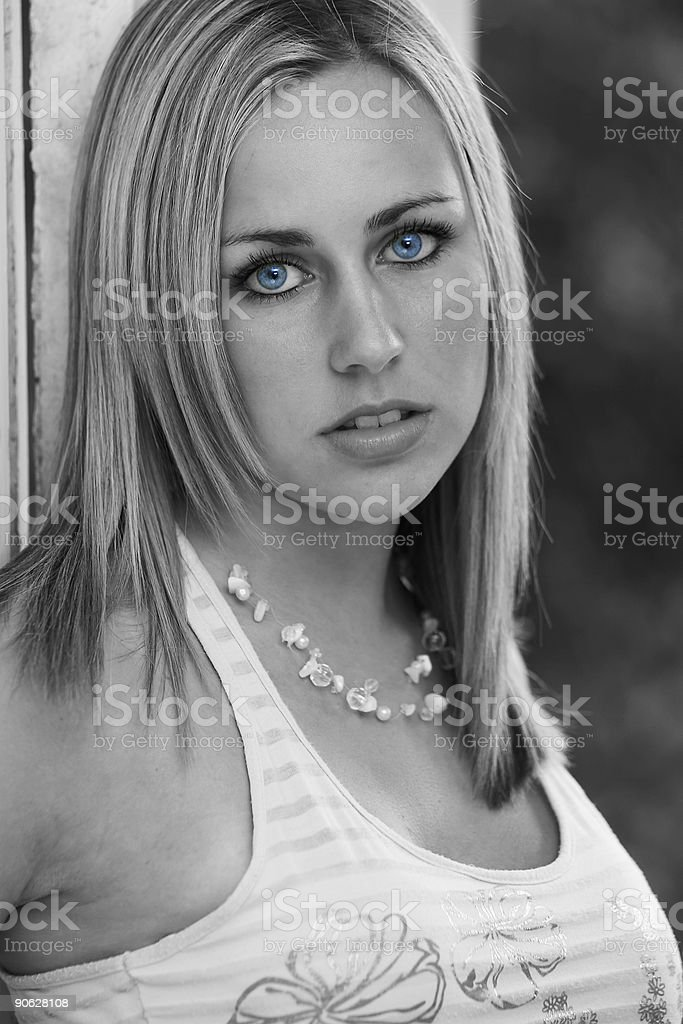 Black And Blue Too royalty-free stock photo