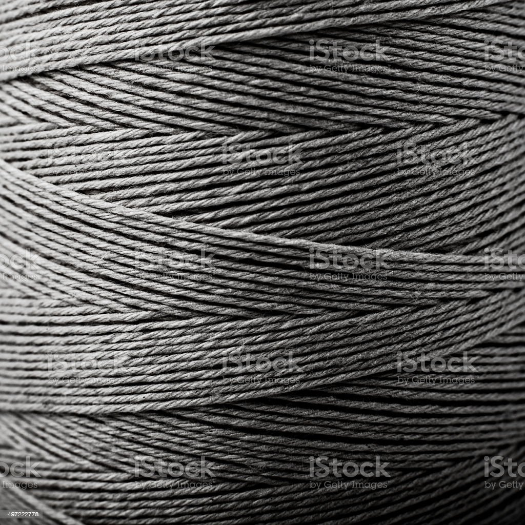black and white background textile yarn, lines and geometry stock photo