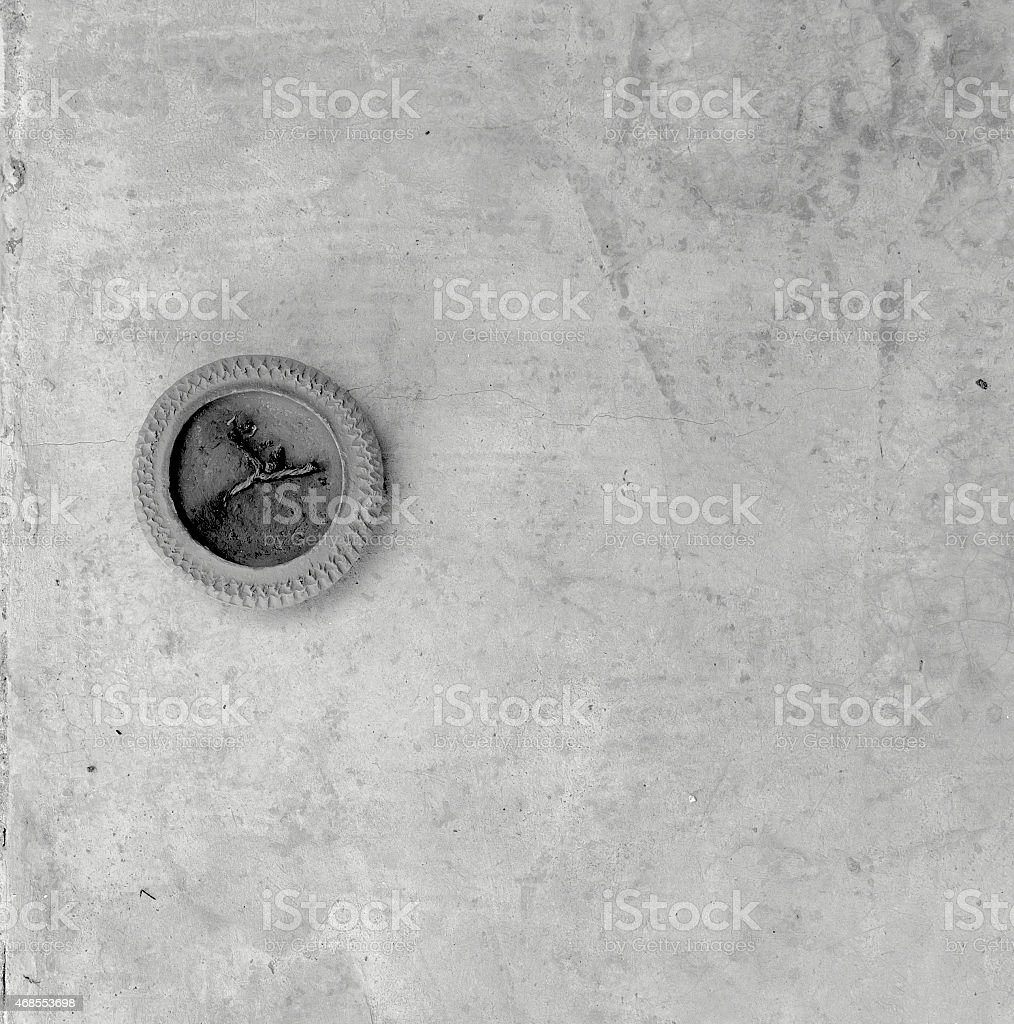 Black and white cement floor background royalty-free stock photo