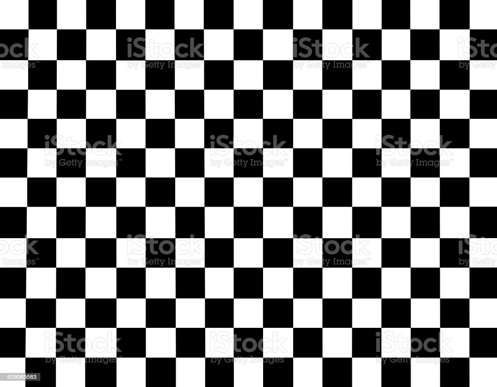 black and white checked background pattern stock photo