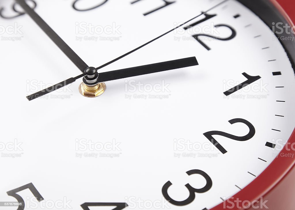 black and white clock face stock photo