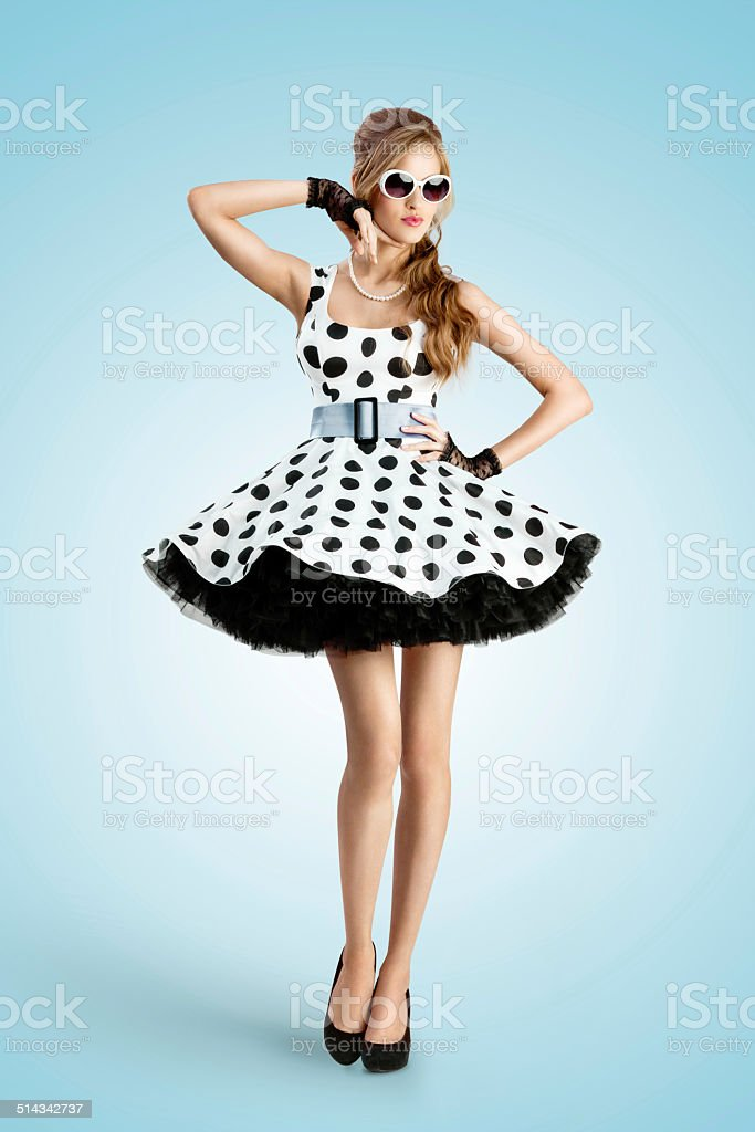 Black and white dots. stock photo