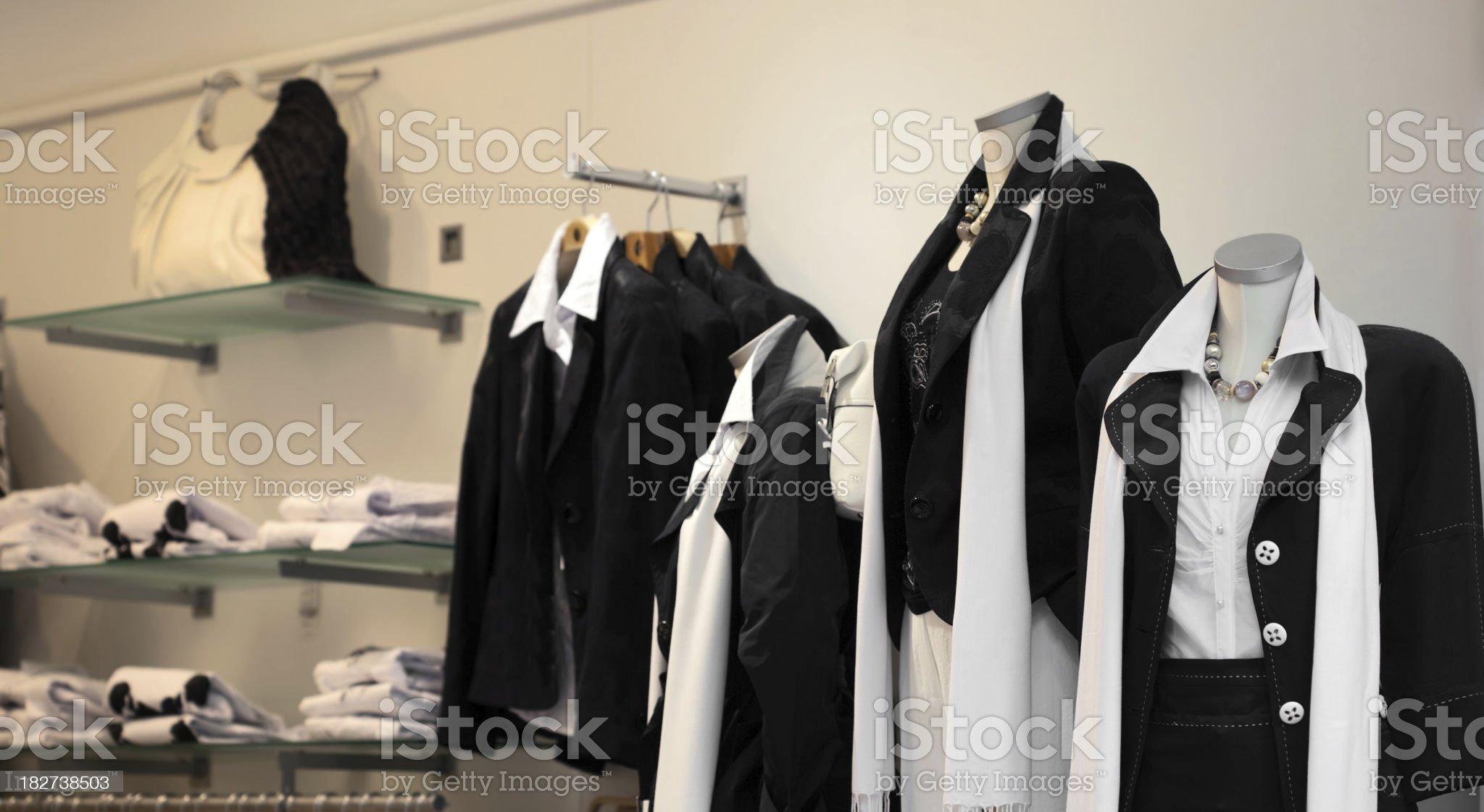 black and white fashion royalty-free stock photo