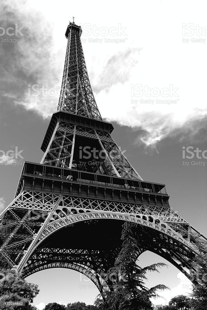 black and white gustave royalty-free stock photo