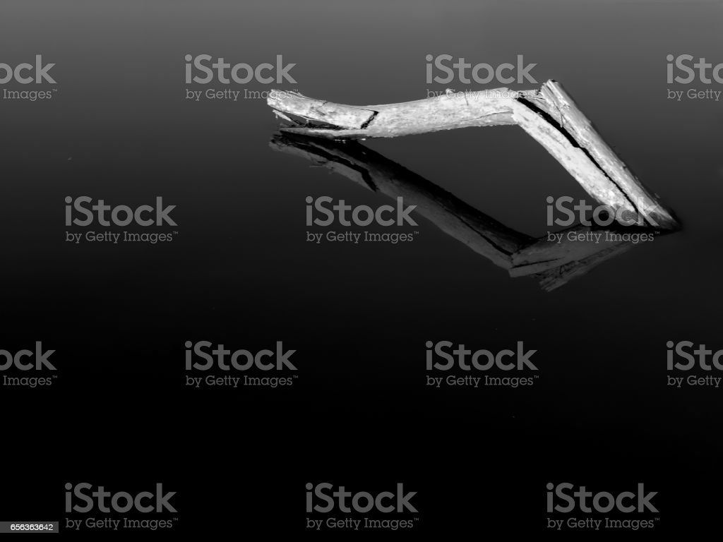Black and white minimalism stock photo