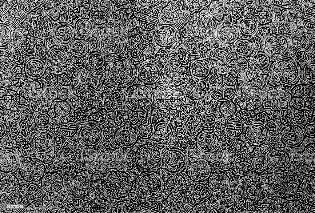 Black and white pattern royalty-free stock photo