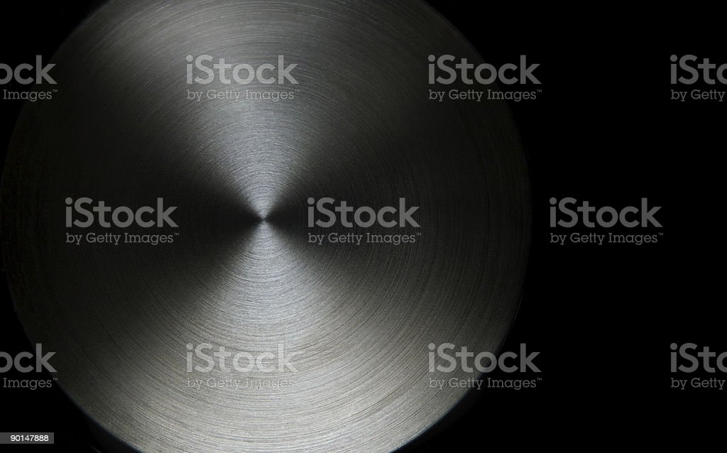 Black and white saucepan royalty-free stock photo