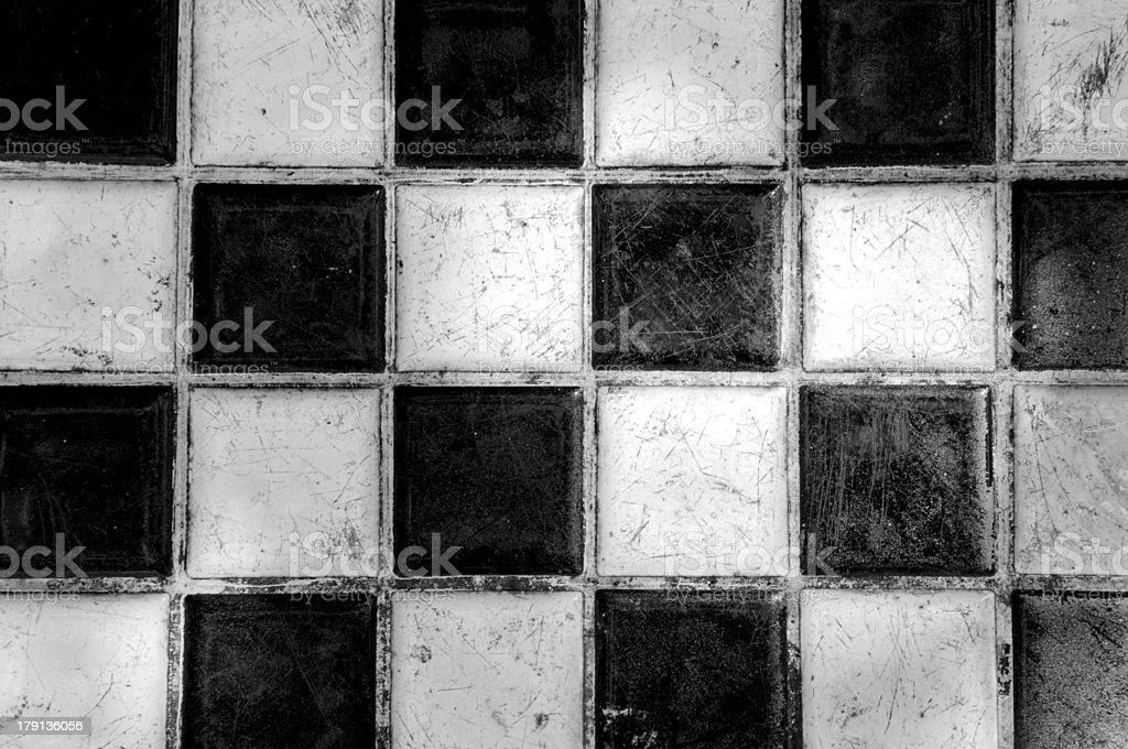 ブラックとホワイトのスクエア ロイヤリティフリーストックフォト