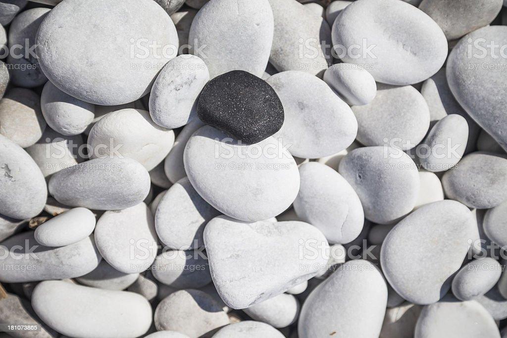 black and white stone royalty-free stock photo