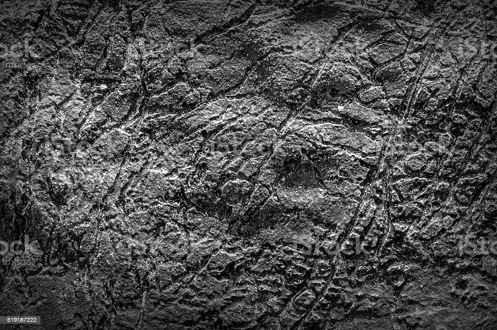 Black and white texture of sea stone texture stock photo