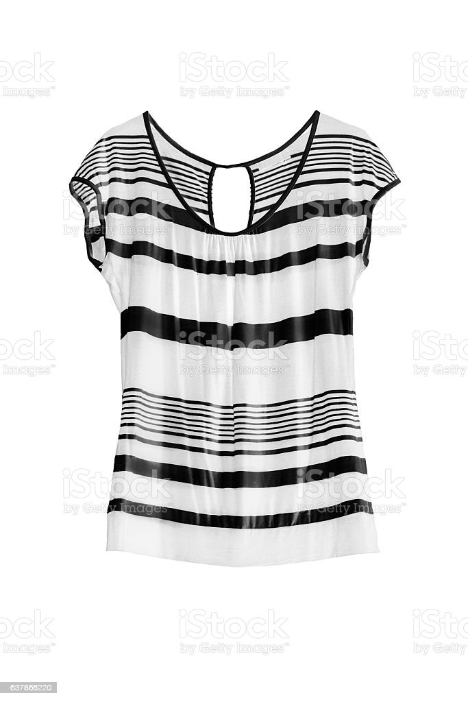 Black and white top stock photo