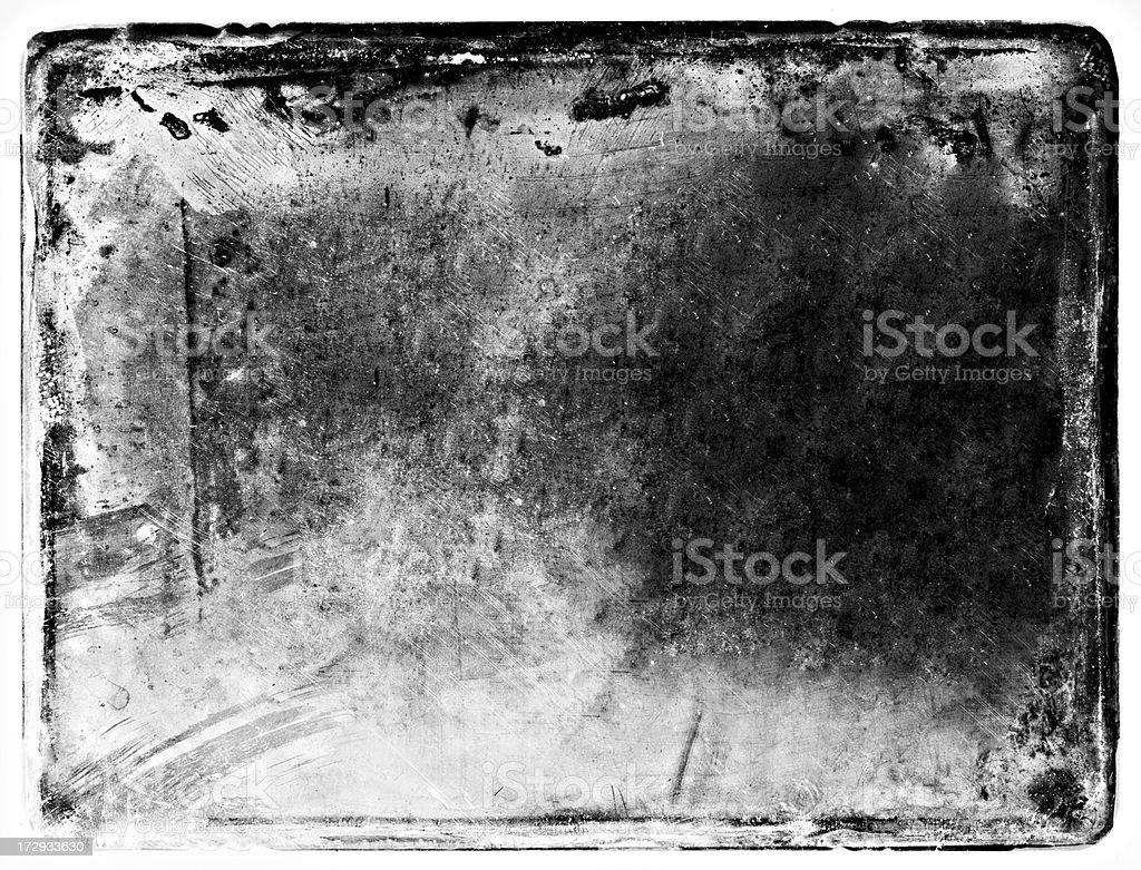 black and white traumatic grunge background royalty-free stock photo