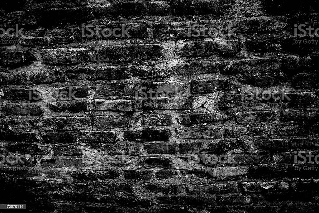 Black and white wall stock photo