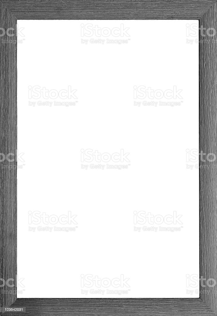 Black and white wooden border royalty-free stock photo