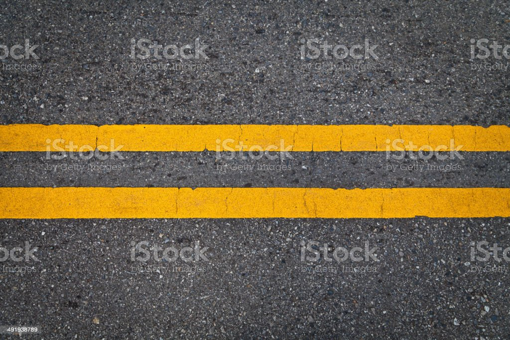 Black and yellow striped caution pattern stock photo