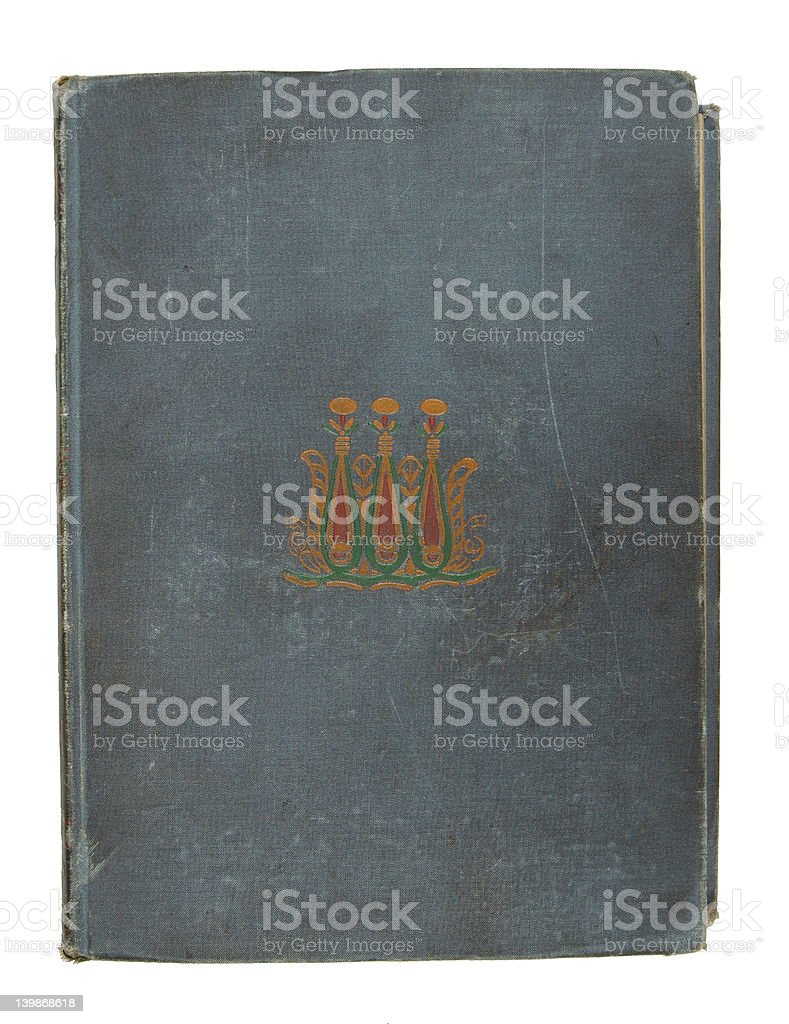Black Antique Book stock photo