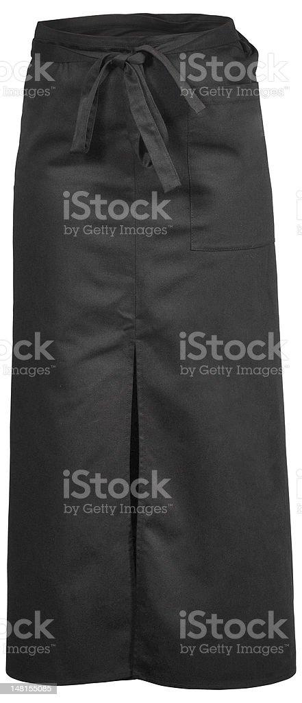 black apron royalty-free stock photo