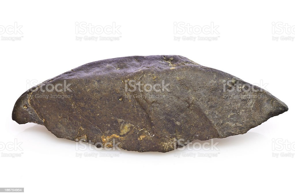 Black arrowhead royalty-free stock photo