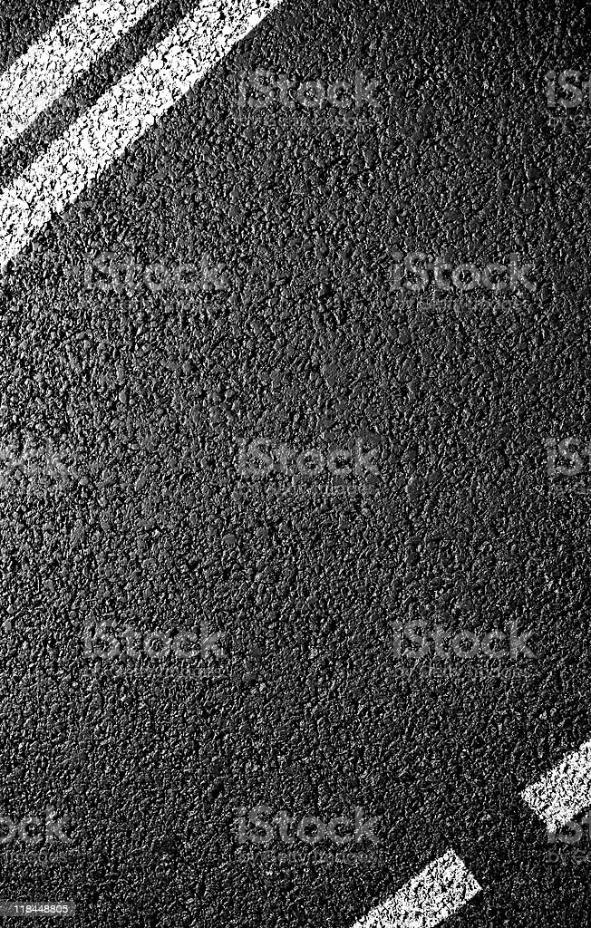 Black asphalt of a road with white lines royalty-free stock photo