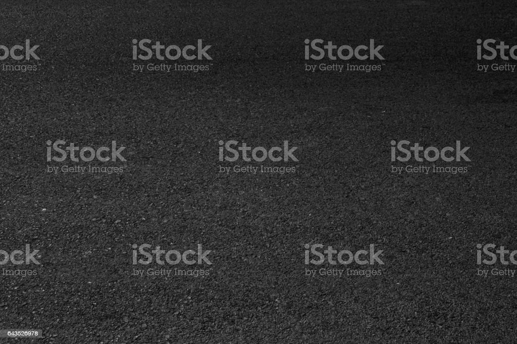 Black asphalt road textured background. stock photo
