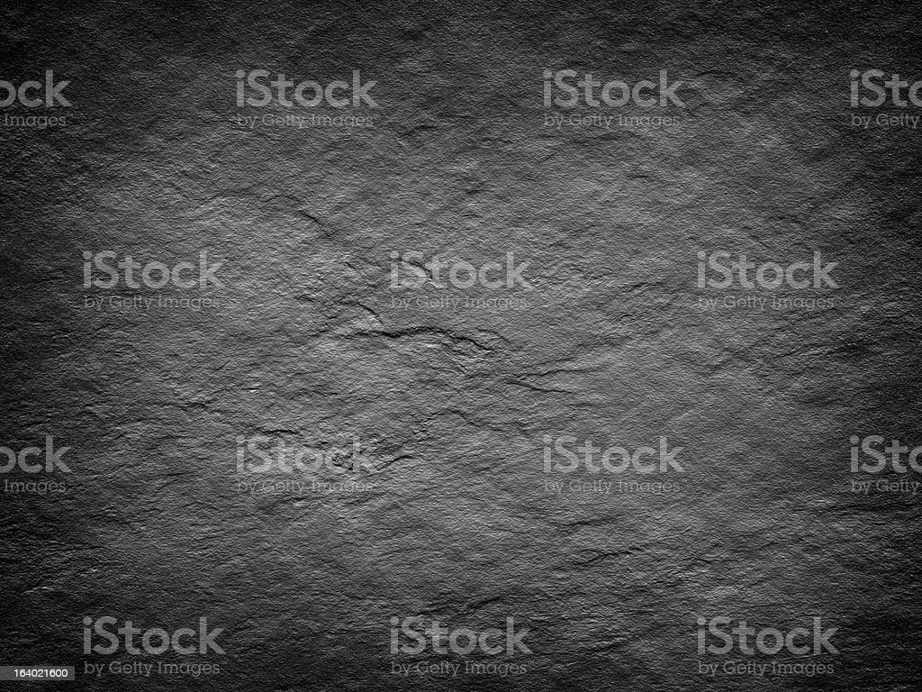 Black background or texture - rough wall royalty-free stock photo