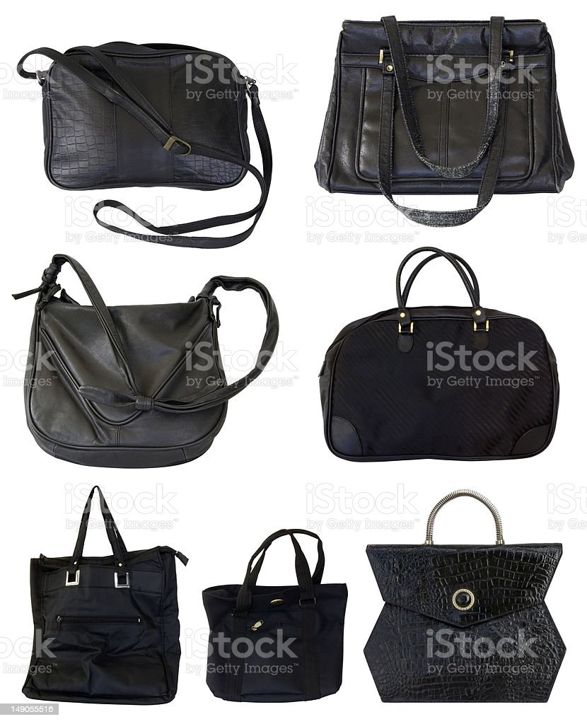 Black Bags stock photo
