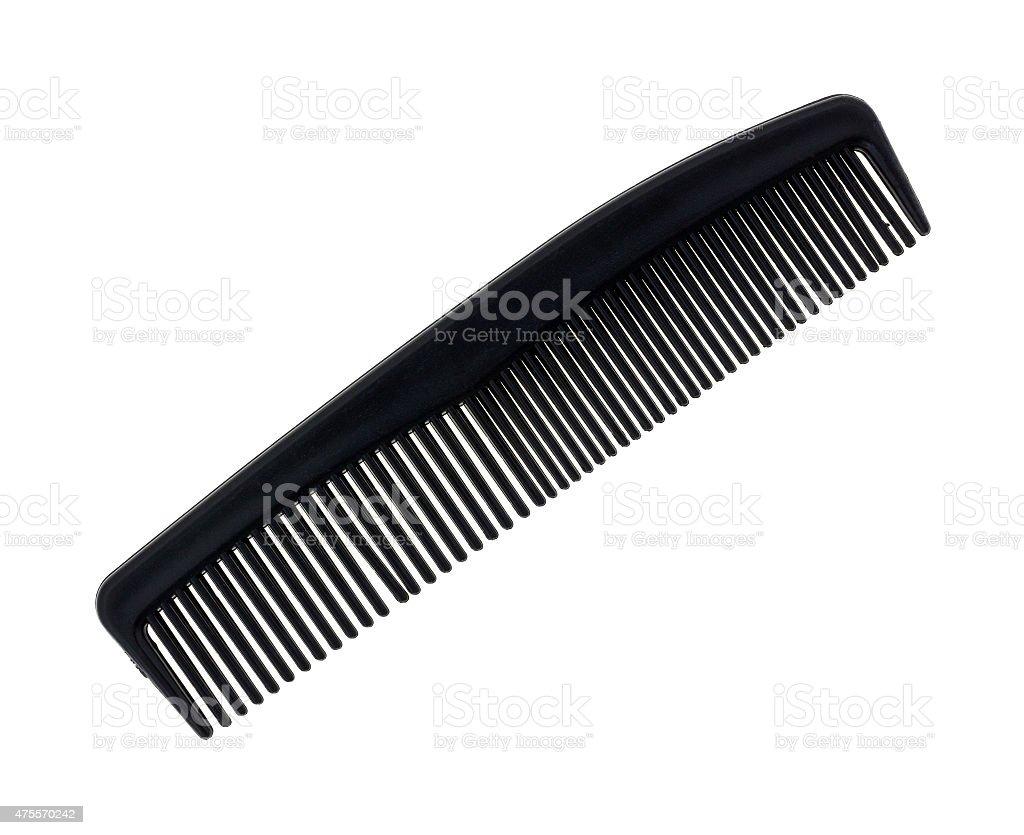 Black barber shop comb stock photo
