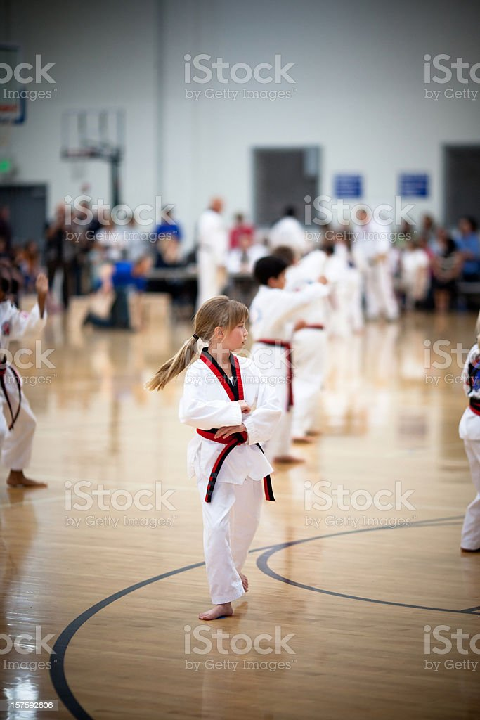 Black Belt Testing stock photo