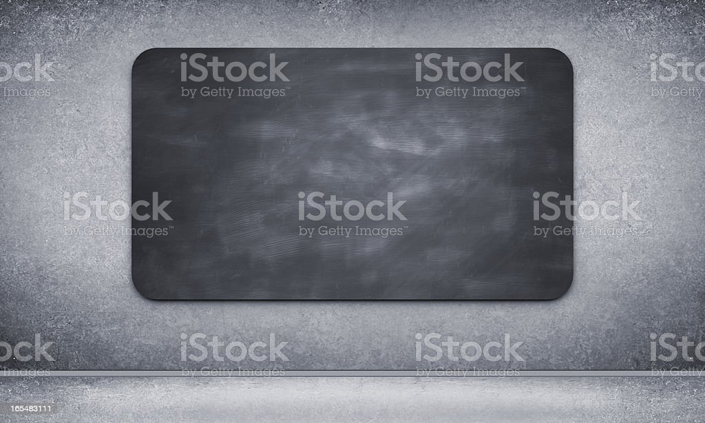 Black blackbord royalty-free stock photo