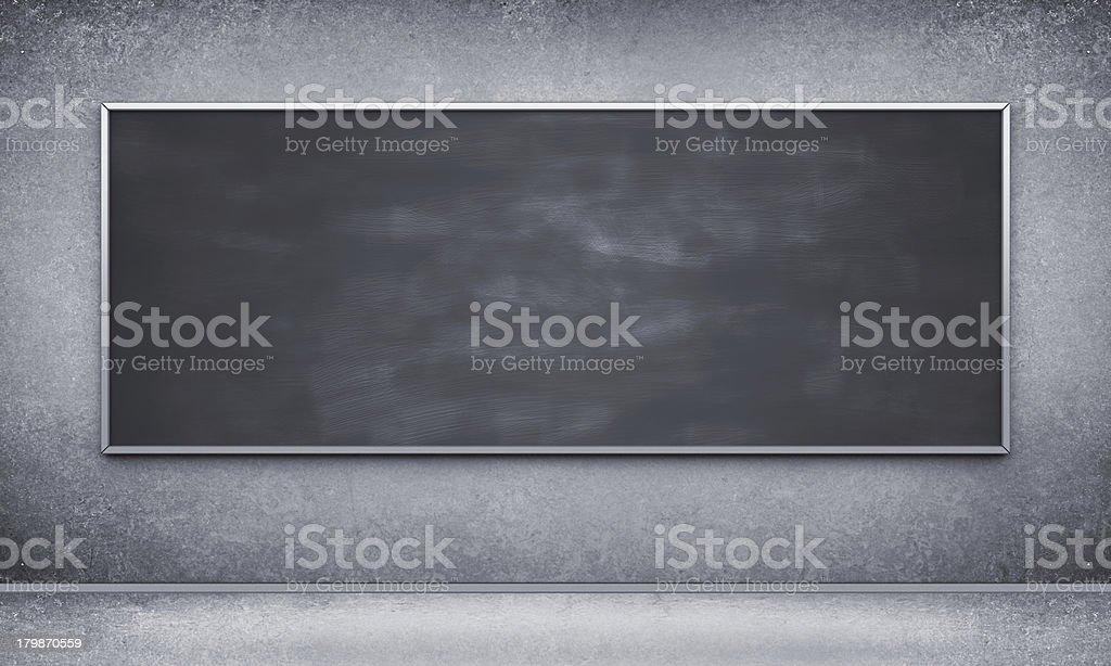Black blackbord royalty-free stock photo