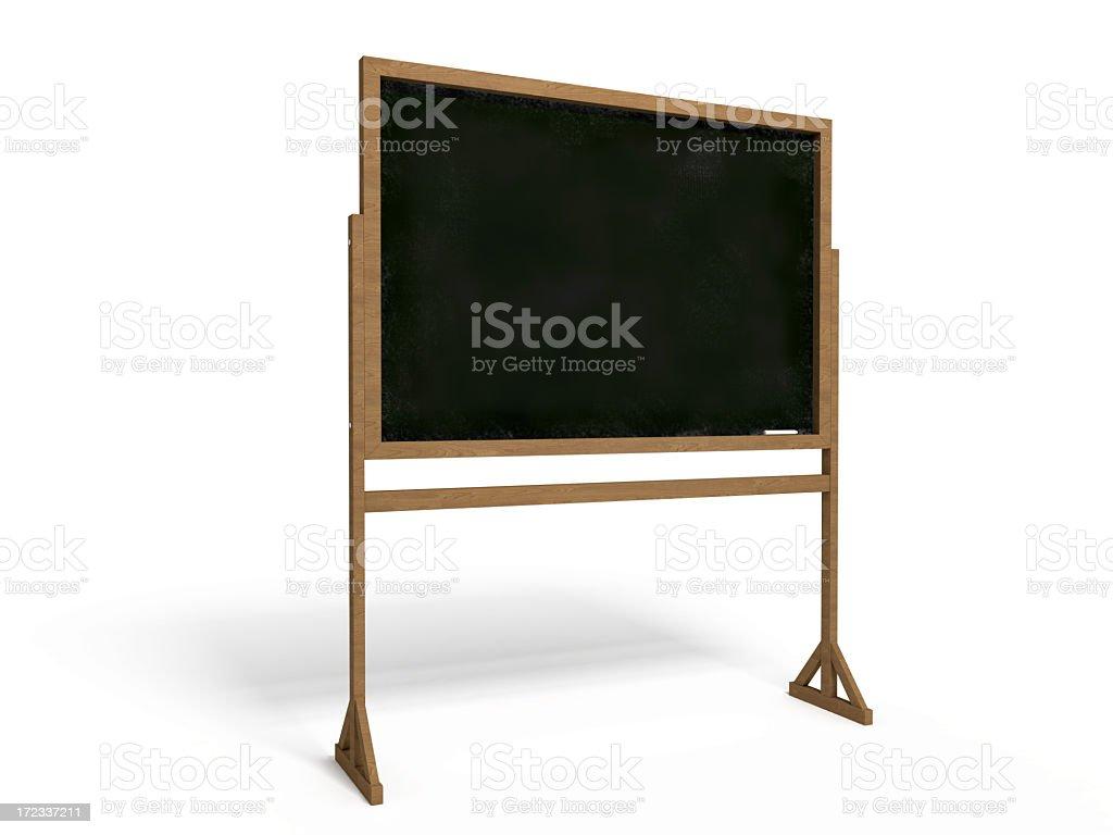 Black Board I royalty-free stock photo