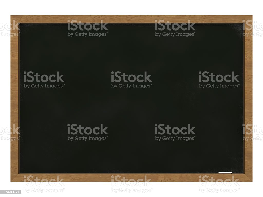 Black Board II royalty-free stock photo