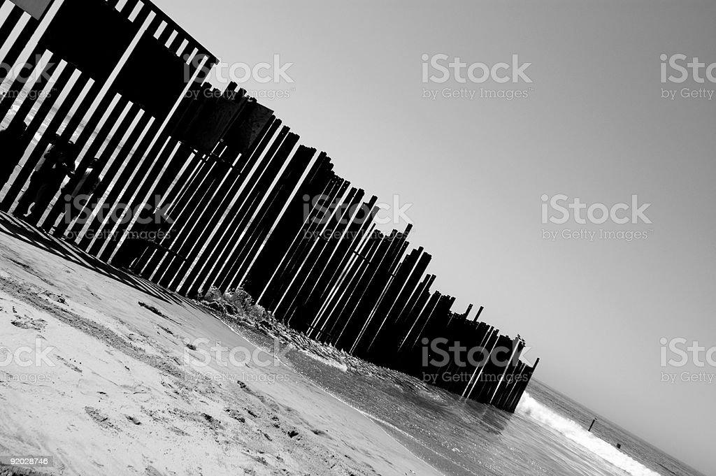Black Border royalty-free stock photo