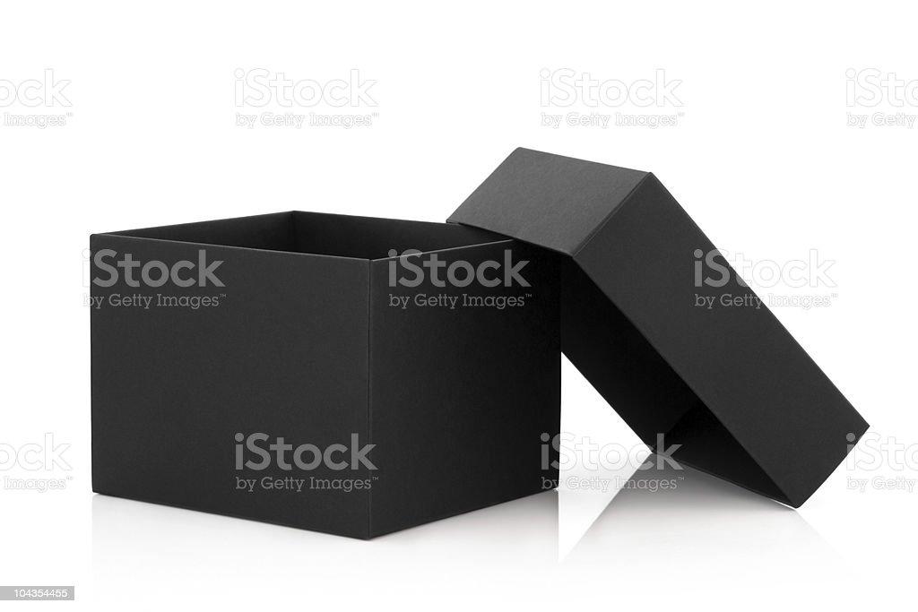 Black Box stock photo