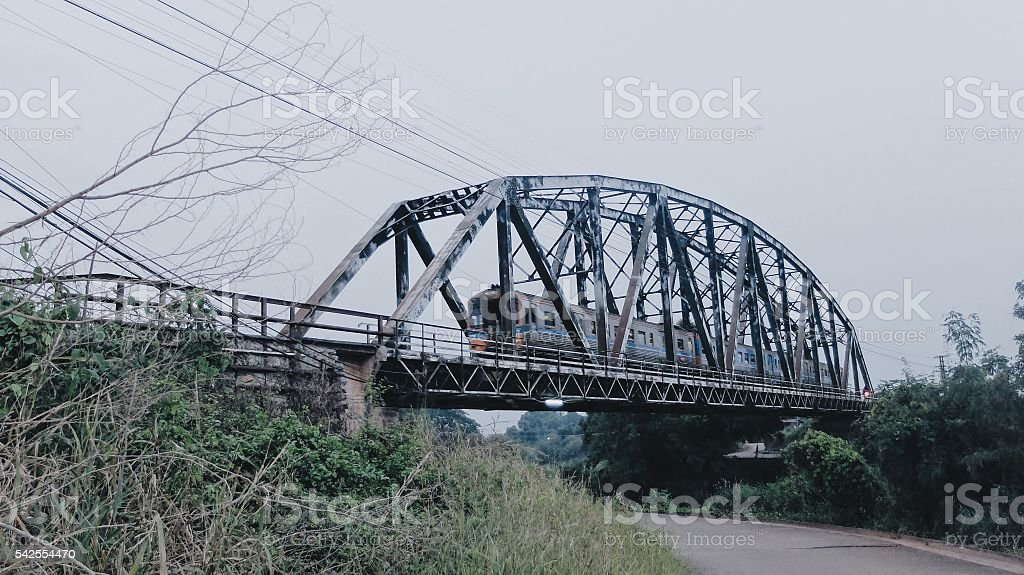 Black Bridge stock photo
