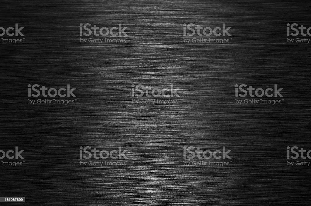 Black Brushed Metal Background stock photo