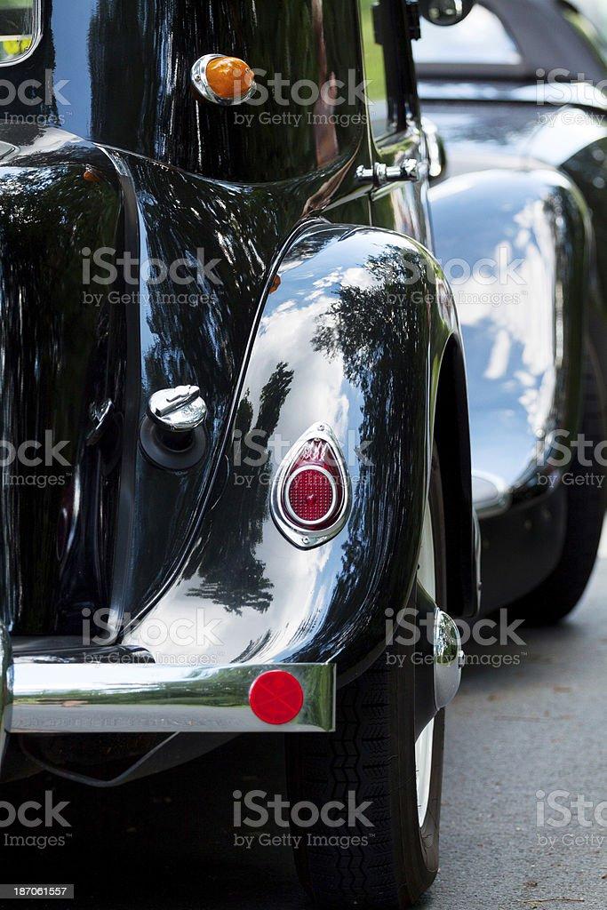Black bumper royalty-free stock photo