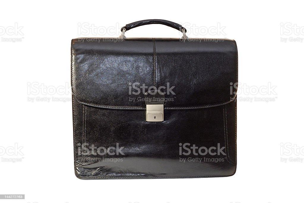 Saco de negócios preto foto de stock royalty-free