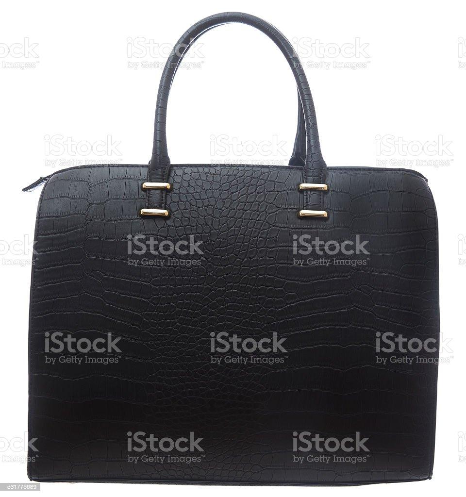 Black Business Purse stock photo