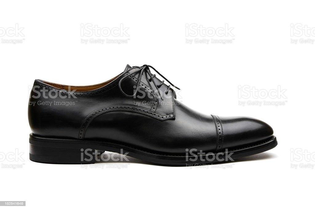 Black Business Shoe stock photo