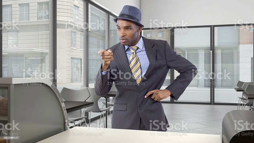 Upset Customer stock photo