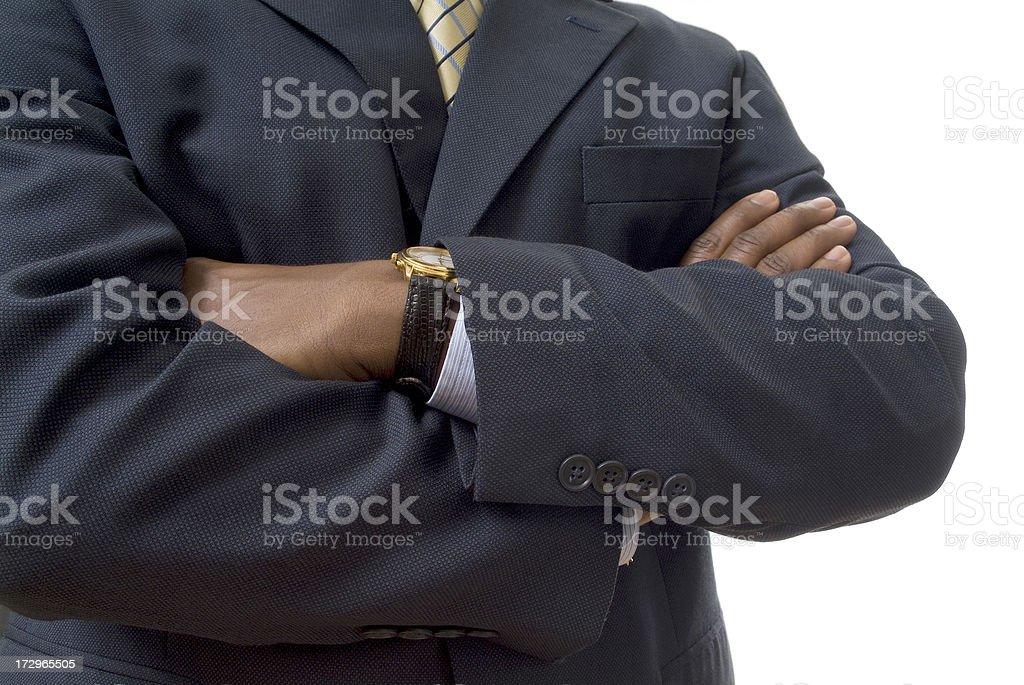 Black Businessman Series royalty-free stock photo