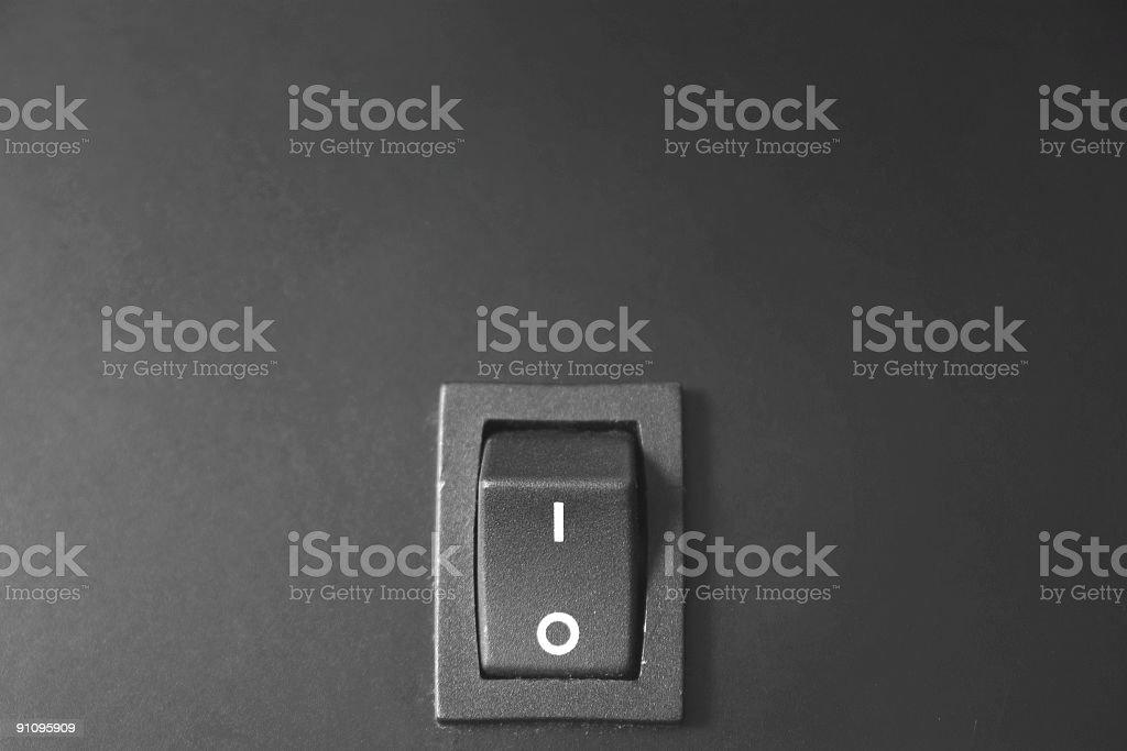 black button royalty-free stock photo