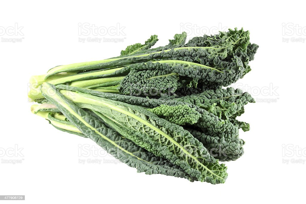 Black cabbage kale royalty-free stock photo