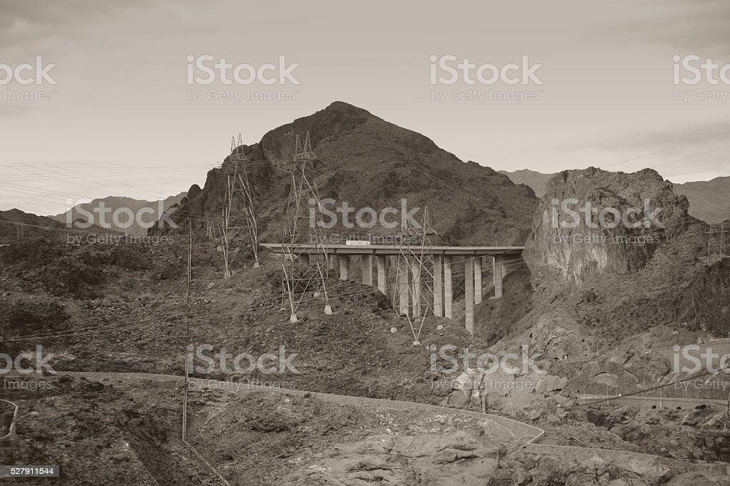 Black Canyon Nevada stock photo