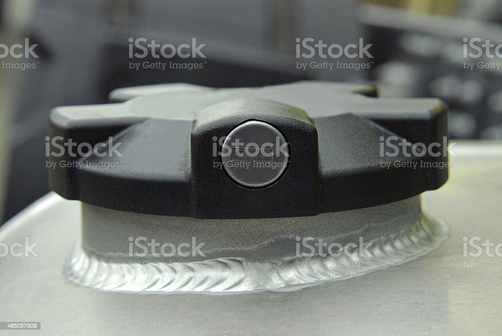 Black cap Fuel royalty-free stock photo