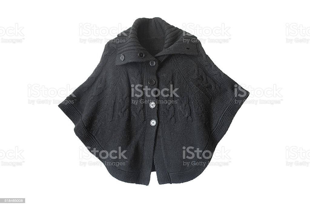 Black cape stock photo